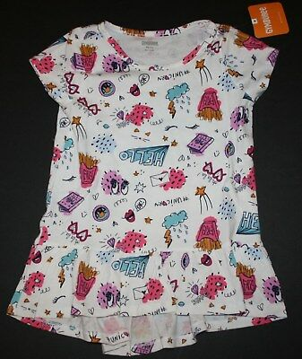 NEW Gymboree Girls Ciao Puppy 2 Piece Love My BFF Top and Skirt NWT 6  8 10 Blue