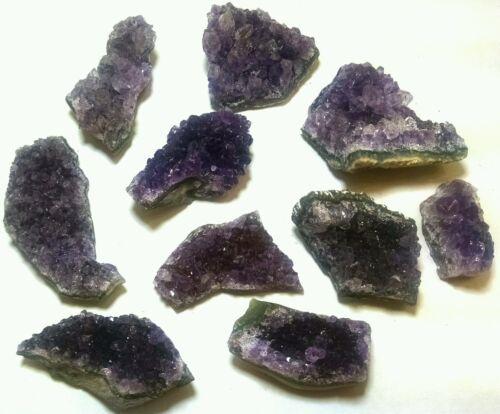 "Purrple Amethyst druze cluster specimen 1-2/"" 2 per lot"