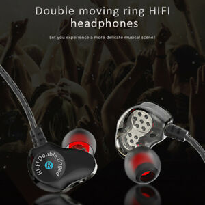 HIFI-Earphone-Dual-Dynamic-Driver-Headphone-Bass-Stereo-Headset-With-Microphone