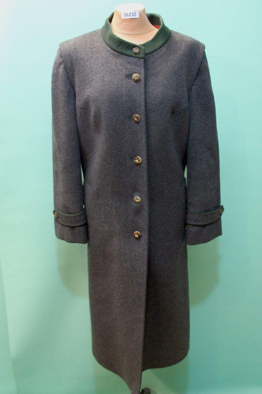 Lodenfrey Trachten Loden Mantel ca 42 L Schurwolle Jagd vintage urig grey