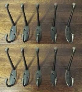 Stainless-Steel-Coat-Robe-Hat-Clothes-Towel-10PCS-Hook-Wall-Door-Hanger-Rack