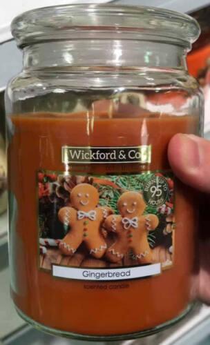 X 6 Noël Bougies Parfumées Bundle gingerbreads par Wickford /& Co Cadeau
