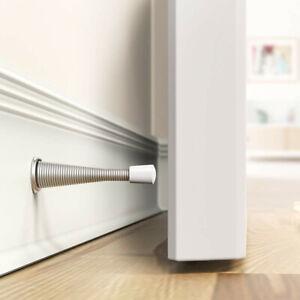 3 Inch Metal Door Jam Premium Set of 4 Door Stop Bedrooms Door Stopper Rubber Tip by CROSS OVER CROSS OVER Door Stopper Wall Protector Perfect for Home Office Kitchen