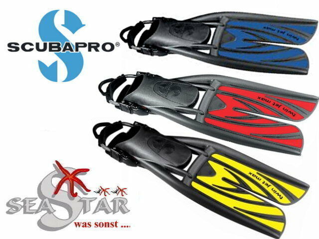 Scubapro Flossen Twin Jet Max, neu alle Größen Farben, Original Fachhandelsware