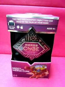 Details about MEET THE MERGE CUBE ARVR HOLOGRAMS Apple & Android NEW