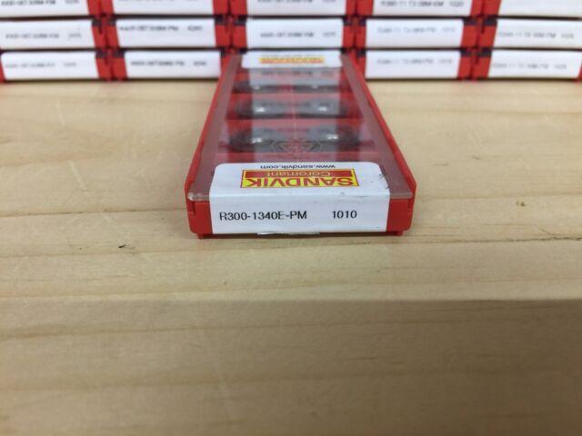 R300-1340E-PL S40T NEW 10 INSERTS PER BOX SANDVIK CARBIDE INSERT