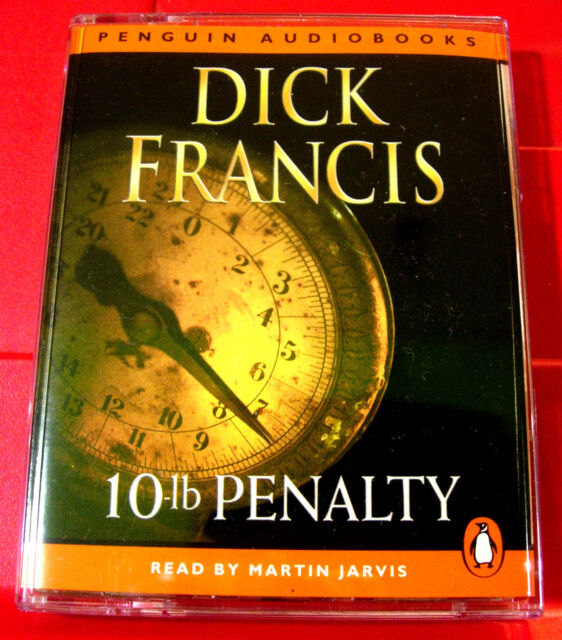 Dick Francis 10-lb Penalty 2-Tape Audio Book Martin Jarvis Horse Racing Thriller