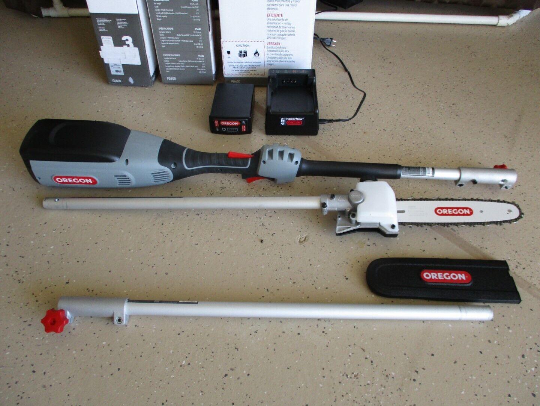 40 Volt Pole Saw Chainsaw PS600 Oregon 590990 Powerhead PH600 594068 Extension