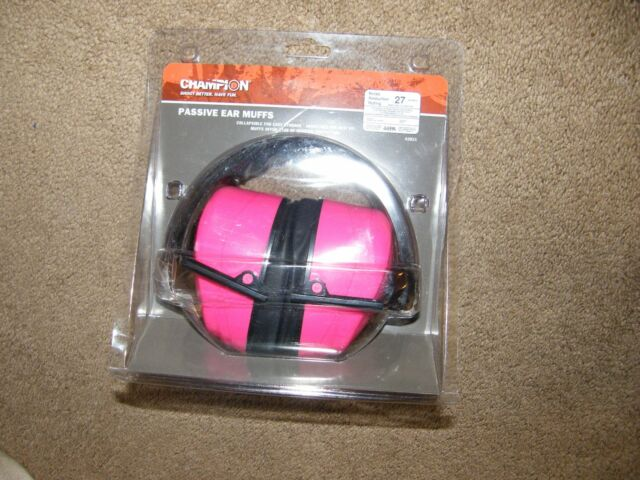 Champion Ear Protection Earmuffs 27 Decibels