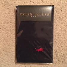 Ralph Lauren Home Polo Player Square Pillowcase Pair - Navy 65x65cm RRP: £79.95