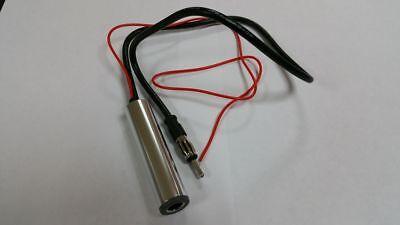Affidabile Autoradio Antenna 12v Amp Amplificata Interno Booster Adattatore Reception Pulizia Della Cavità Orale.