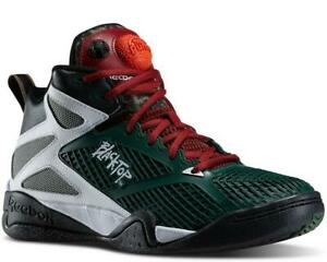 4eba75b2d58f Details about Reebok Blacktop Retaliate   M40823 Green Black Pump Men SZ 8  - 11
