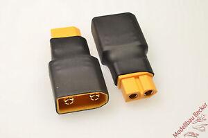 Adapterstecker-XT90-Stecker-XT60-Buchse