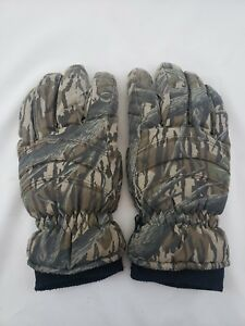 Vintage-Mossy-Oak-Treestand-Insulated-with-Thinsulate-Gloves-Men-039-s-XL