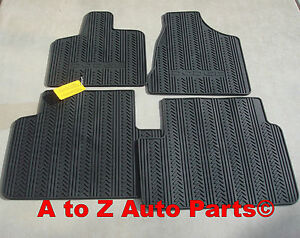 2013 2018 Dodge Grand Caravan Minivan 1st 2nd Row Slush Style Floor Mats Oem Ebay