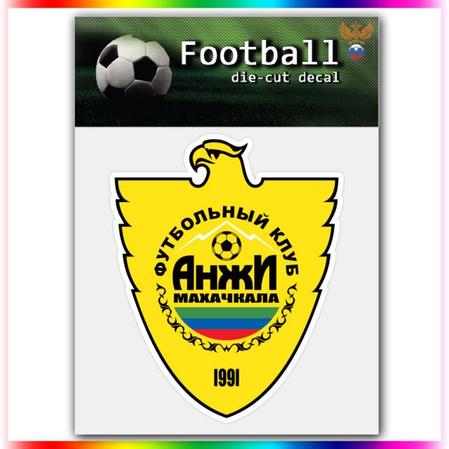 "FC Anji Makhachkala UEFA Die Cut Vinyl Sticker Car Bumper Window 4""x3.3"""