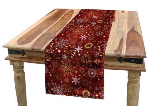 Winter Tischläufer Weinlese Weihnachts
