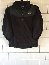 WOMENS BLACK THE NORTH FACE URBAN VINTAGE RETRO FLEECE HOODED SWEATSHIRT JACKET