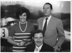 GRAHAM-HILL-BETTY-HILL-ROB-WALKER-LOTUS-PERIOD-RARE-PHOTOGRAPH