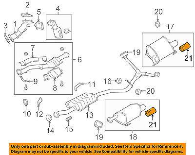 SUBARU D0518FG010 Exhaust Tip
