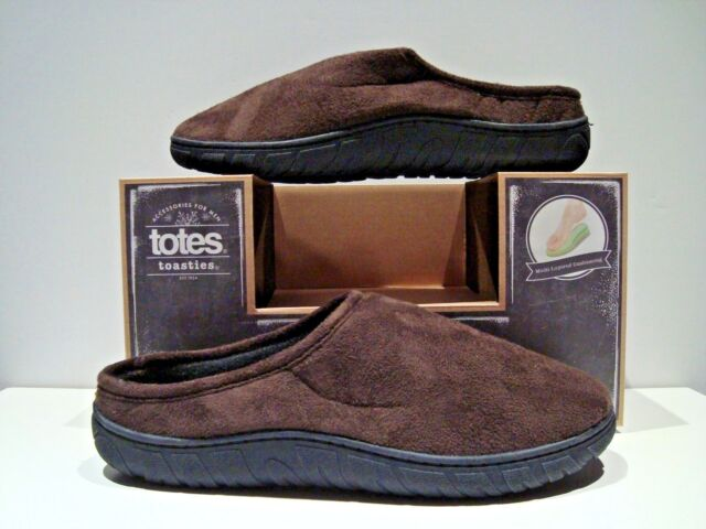 Chocolate Brown Memory Foam Slippers