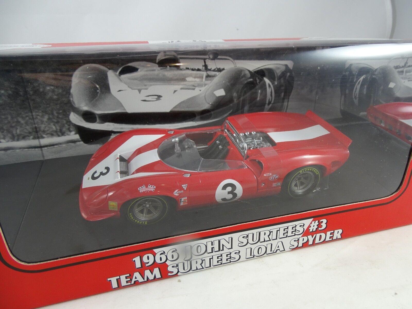 1 18 GMP  12004 Lola Spyder 1966 John Surtees  3 RARE