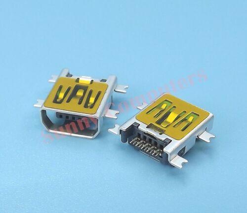 2x New Philips 10-Pin Mini-AB USB Socket 5P Female Repair Replacement Port AU #G