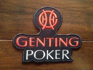 Patch-Ecusson-Genting-Poker-Jeu-Casino-Joueurs-Chance-Lucky