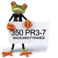 350 PR3-7 Backlinks Pyramide + 20 EDU + 5000 Backlinks DOFOLLOW, SEO, Linkaufbau