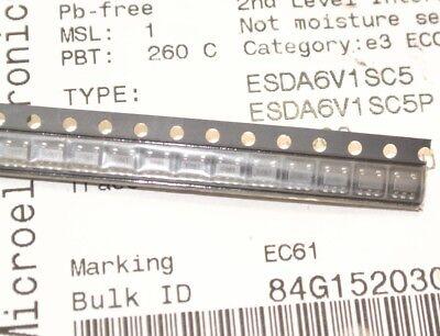 5 pieces TVS Diode Arrays 6.1V 400W Unidirect