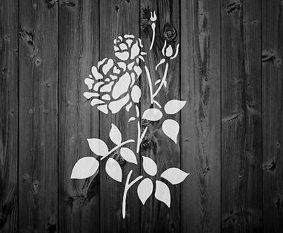 Stencil Floral Vintage French shabby  Mylar Stencil 125//190 mic A5 A4 A3 4