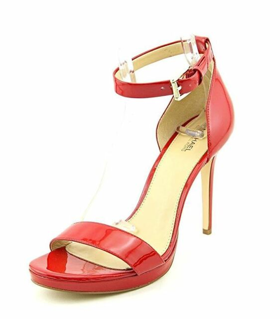 a4543208a7d0 Michael Kors Sienna Sandals Women s HEELS Red Size 9 M for sale ...