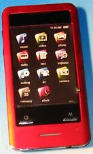 Coby MP828 RED (8 GB) Media Player-Audio, Video,FM, Camera,miniSD,touch screen