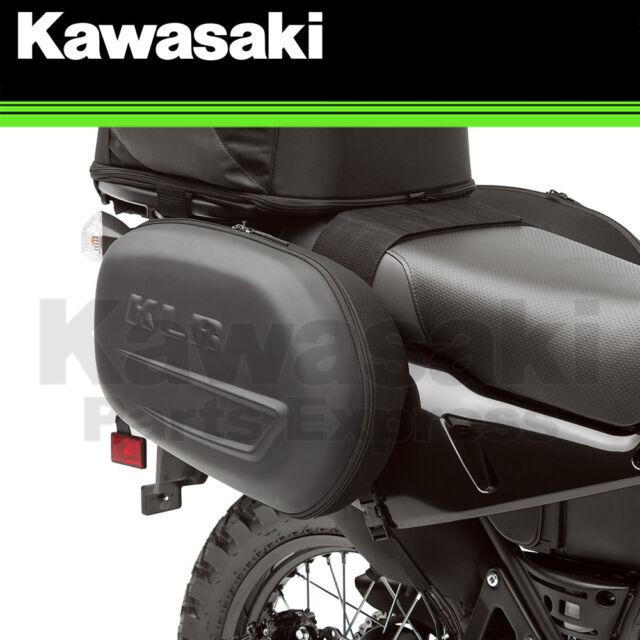 2008-2017 Kawasaki KLR650 Dual Sport Saddlebags Carry Luggage K57003-100A OEM