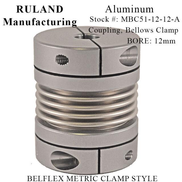 Aluminum A2017 NBK MJC-65CS-ERD-22-25 Jaw Flexible Coupling Clamping Type 22 mm and 25 mm Bore Diameters