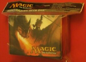 Magic-the-Gathering-UltraPro-New-Sideloader-Deck-Box-Kargan-Dragonlord-Theme