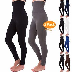Control Body Ankle Tummy 2 Fleece Legging High Pc Length Women Shaper Waist Slim 0IIqBzF