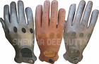 BRAND NEW* TOP QUALITY REAL SOFT LEATHER MEN'S DRIVING GLOVES-D502