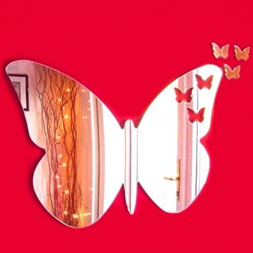 Mariposas De Mariposa De Acrílico Espejo (varios Tamaños Disponibles)