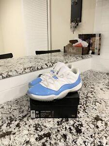 "Air Jordan Retro 11 Low ""University Blue"" Mens Size 11"