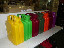 JERRY CAN 5L RED Various Colours Available  TUV Certified / GJC5