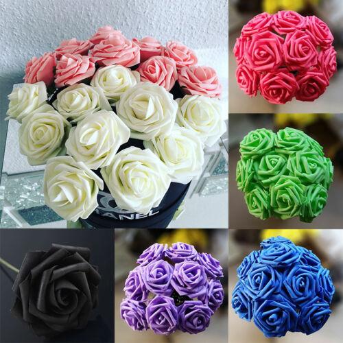 10Pcs Artificial Rose Flowers Bouquet Bunch Home Wedding Party Decors