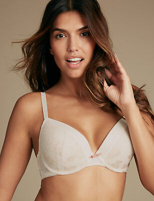 BRA M/&S Plunge /'Sumptuously Soft/' Various Sizes RRP £22.50 BNWT