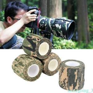 Kombat-Army-Camo-Wrap-Rifle-Hunting-Airsoft-Camouflage-Stealth-Tape-Outdoor