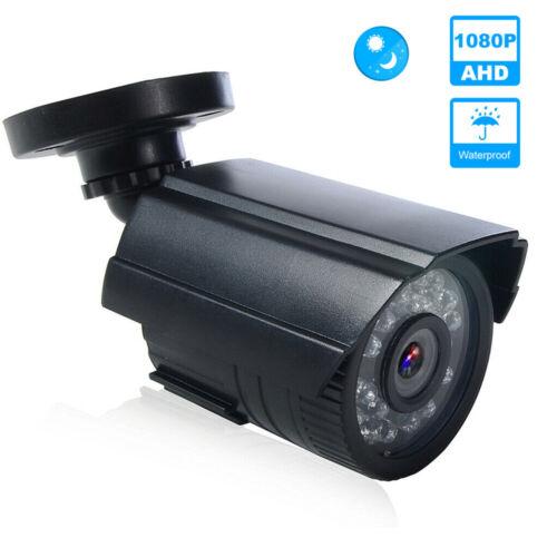 AHD 1080P Bullet CCTV Camera Outdoor Home Security Surveillance IR Night Vision