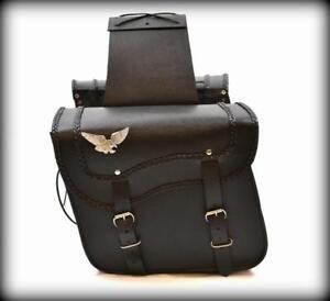 Bolsas-moteros-de-piel-Con-Aguila-para-moto-custom-harley-shadow-virago
