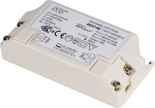 SLV LED-Treiber 10W inkl 350mA Zugentlastung dimmbar