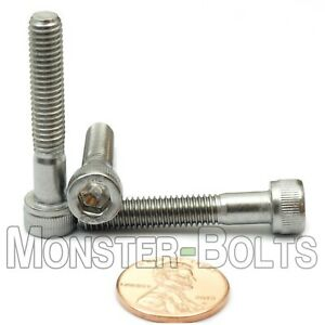Qty 10 Stainless Steel A2 // 18-8 DIN 912 SOCKET HEAD Cap Screws M4 x 35mm