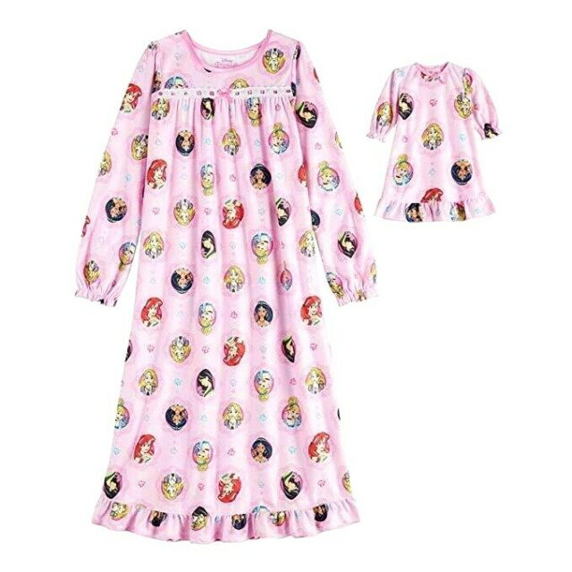 NWT 4//5 Mini Boden Pale Provence Pink Playroom Toys Nightgown
