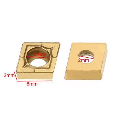 S10K-SCLCR06 Bohrstange Klemmhalter mit 10x CCMT060204-HM Wendeschneidplatten
